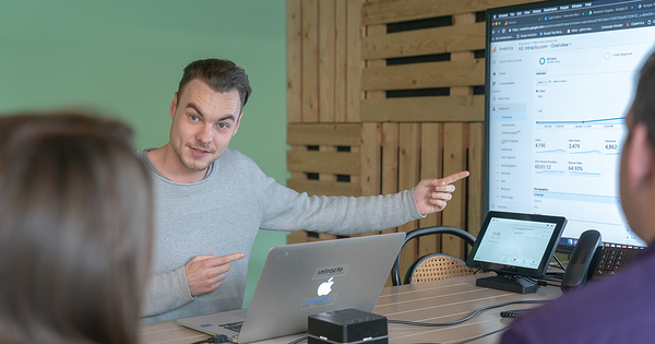 Glenn vertelt over datakwaliteit in Google Analytics