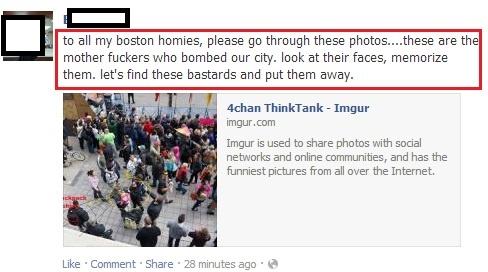 """Reddit gebruikers openen een ware heksenjacht op de """"verdachten"""" van de Boston Marathon bombing. Op de verkeerde zo blijkt later."""