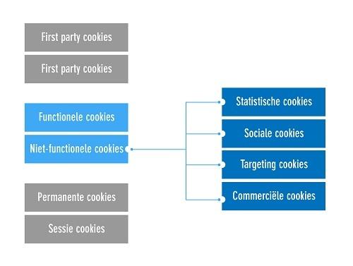 De verschillende soorten cookies
