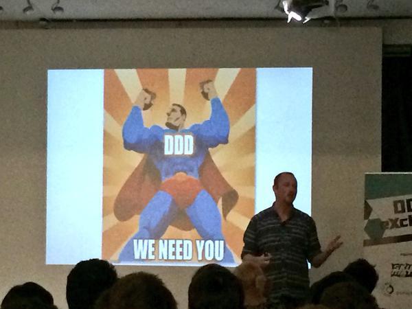 DDD we need you