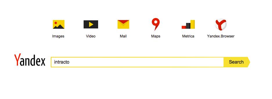 Yandex zoekmachine