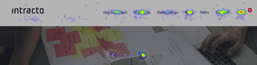 metrica click map