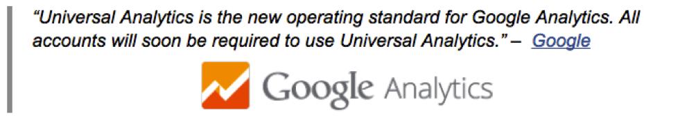 Universal analytics google quote